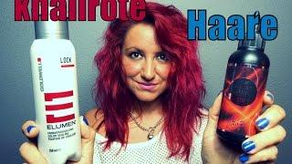 haare rot gefärbt