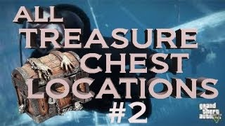 GTA V SECRETS All Treasure Chest Locations Part 2 Chests 7,8,9,10,