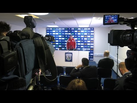 PRESS CONFERENCE | Tony Pulis previews Albion's Premier League trip to Crystal Palace