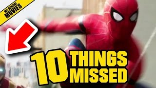 SPIDER-MAN HOMECOMING Trailer - Easter Eggs & Things Missed