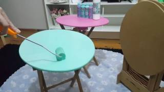 DIY Rich Multi Surface | Wood Furniture Painting | Ahşap Mobilya Boyama
