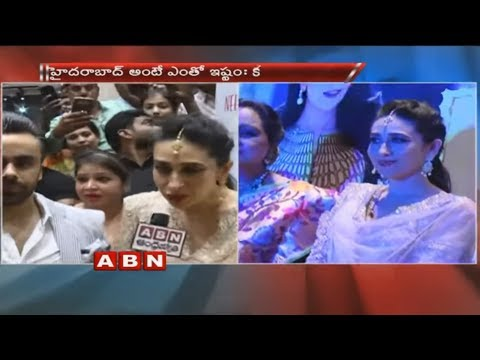 Actress Karishma Kapoor About Her Relation with Hyderabad