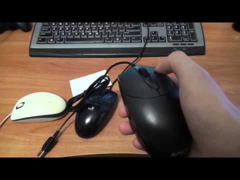 Бесшумная мышь своими рукам