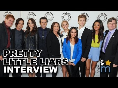 PRETTY LITTLE LIARS Season 4 Spoilers & Ravenswood Interview - Paley Center