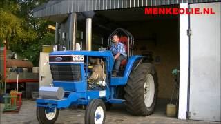 MENKEOLIE.NL - Erwin Menke - Ford 8630 almost ready for the new tractor pulling season