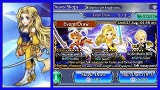 Dissidia Final Fantasy Opera Omnia - Celes Character/Event Analysis