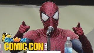 The Amazing Spider-Man 2 Comic Con 2013 Panel - Andrew Garfield, Jamie Foxx