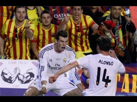 Gareth Bale Amazing SOLO Goal with Ferrari Sound Effect !! Final Copa Del Rey 16-04-2014