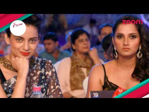 Sania Mirza laughs at Kangana Ranaut | KAUN-FLICT | CUT IT!! | EXCLUSIVE
