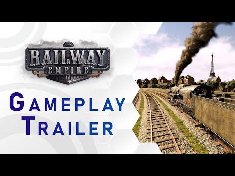 Railway Empire - AI Tycoons - Gameplay (EN)