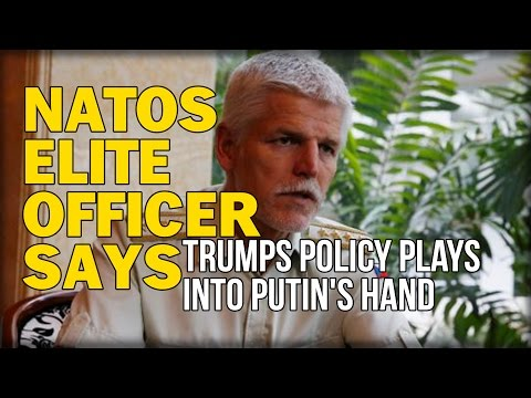 NATOS ELITE OFFICER SAYS TRUMPS POLICY PLAYS INTO PUTIN'S HAND