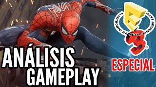 SPIDER-MAN [PS4] Análisis del Gameplay (E3 2017)