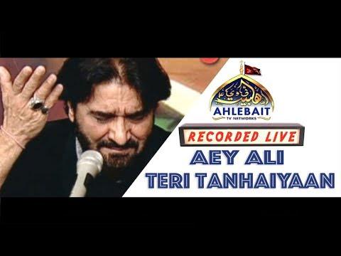 Nadeem Sarwar Live | Aey Ali Teri Tanhaiyaan | Ahlebait TV Networks | Imam Ali a.s Martyrdom