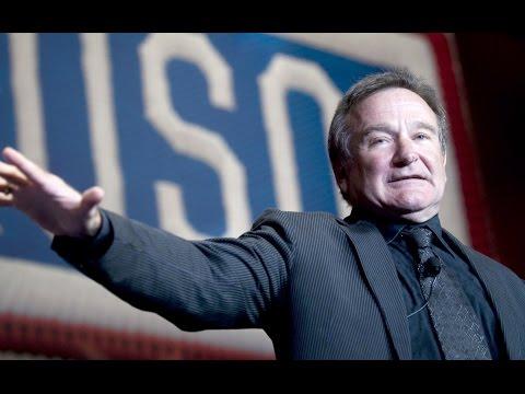 Robin Williams Depression Lines