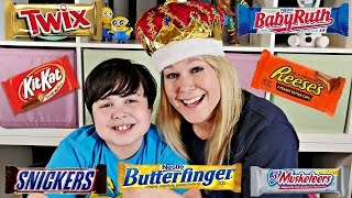 CANDY CHALLENGE  Cheryl & Brayden Take The Candy CHALLENGE | Challenge Video