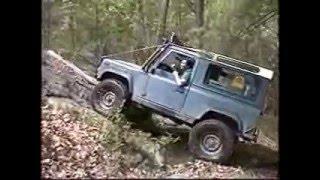 Hummer H1 vs. Land Rover D90