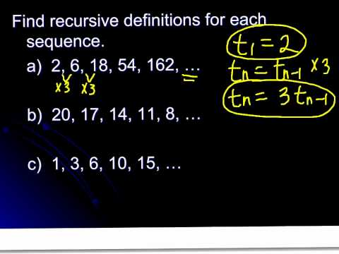 S 13.2 (Day 1): Recursive Definitions