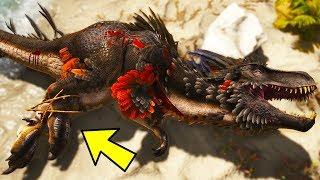 Atlas Dinosaur Taming! Tame the Razortooth Trex Beast! - Atlas Gameplay
