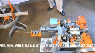 wire nail making machine by bumra industrial corporation amritsar
