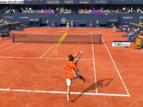 Virtua Tennis 4 PC- Rafa Nadal vs Andy Murray (Paris,Francia)