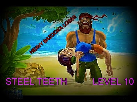 Boom Beach walkthrough guide for level 10 STEEL TEETH by Redneck Gamemaster and Special Guest