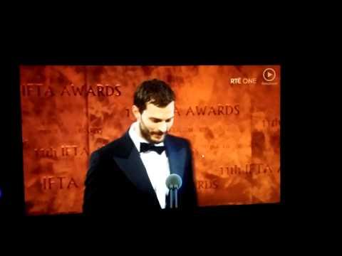 Jamie Dornan Rising Star Award IFTA 2014
