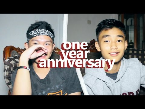 ONE YEAR ANNIVERSARY 'really awesome bananas' // INTERVIEWING OURSELVES