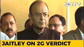 Congress Taking 2G Judgement As A Badge Of Honour, Says Arun Jaitley