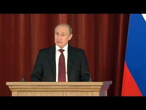 Putin Ukrayna'ya sert çıktı