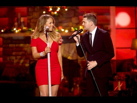 ᴴᴰ Michael Buble & Mariah Carey - All I Want For Christmas Is You (live Duet 2013) video
