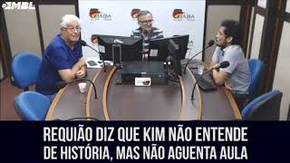 Kim Kataguiri dá aula de economia para Roberto Requião.