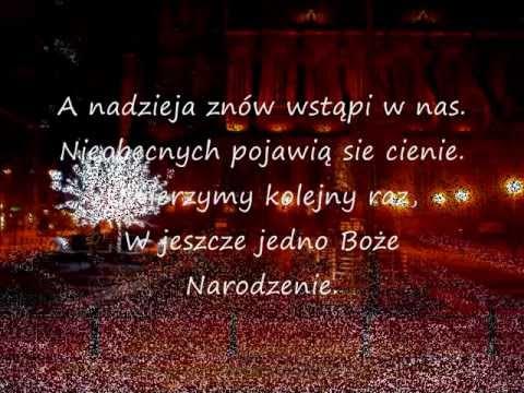 Na Boże Narodzenie ... Kolęda Dla Nieobecnych (Zbigniew Preisner) Tekst