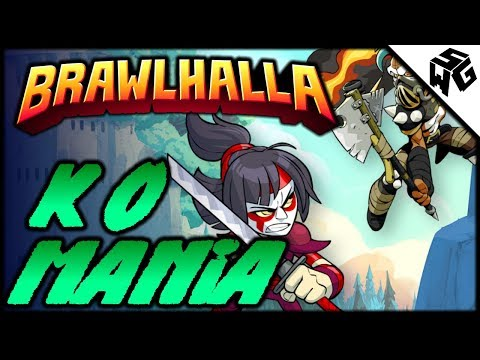 BOTW: KO MANIA! - Brawlhalla Gameplay :: 5 Stocked!