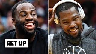 Everything is cool between KD and Draymond – Jalen Rose | Get Up