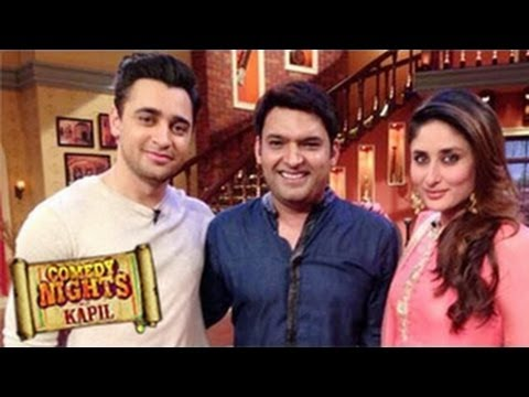 Imran Khan & Kareena Kapoor on Comedy Nights With Kapil 24th November 2013 Episode