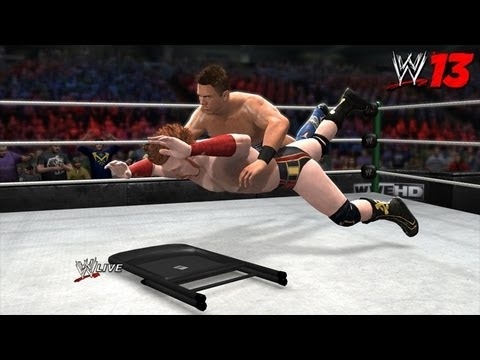 WWE 13 (wii) John Cena vs Sheamus  (Extreme Rules) (HQ)