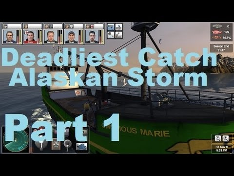 Let's Play Deadliest Catch Alaskan Storm or Alaskan Crab Fishing Simulator Part - 1