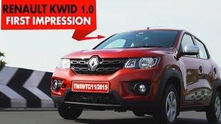 2016 Renault Kwid 1.0 : First Impressions : PowerDrift