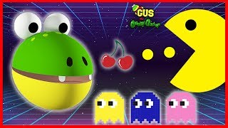 Let's Play Pac Man Vintage Game Giant Life Size Pac Man Gus