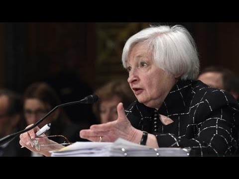 Yellen Comments on Possibility of Negative Interest Rates