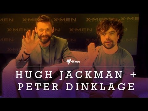 Hugh Jackman & Peter Dinklage on X-men, Chris Nolan and more
