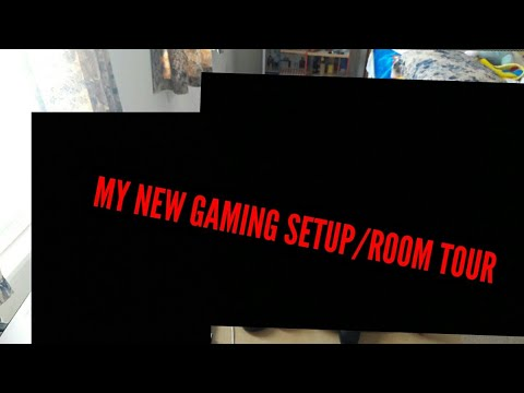 MY NEW ROOMTOUR/GAMING SETUP !