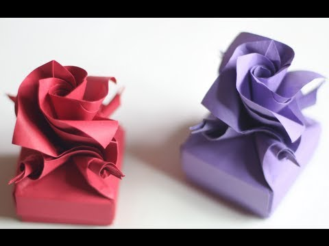 How to make Origami Versailles box Music Videos