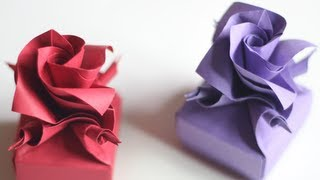 How To Make Origami Valentines Box / Versailles Box