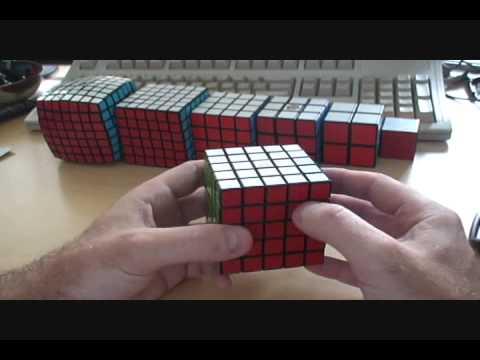 Кубик Рубика 5х5, Часть 1