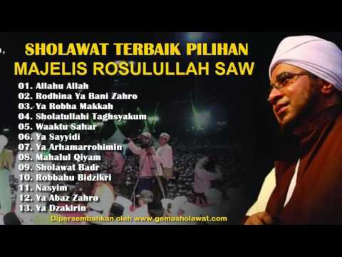 Kumpulan Sholawat Terbaik Pilihan FULL MAJELIS ROSULULLAH SAW (The Best Of Hadrah Music) HD