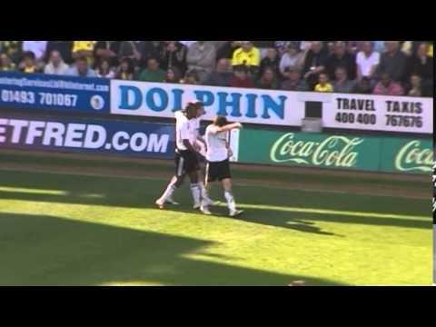 Norwich City 3-2 Derby | Simeon Jackson | 2010-2011 | CANARY CLASSIC