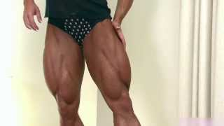 female muscle legs sexy 11