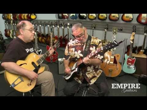 Empire Guitars presents: Duke Robillard and Paul Kolesnikow play