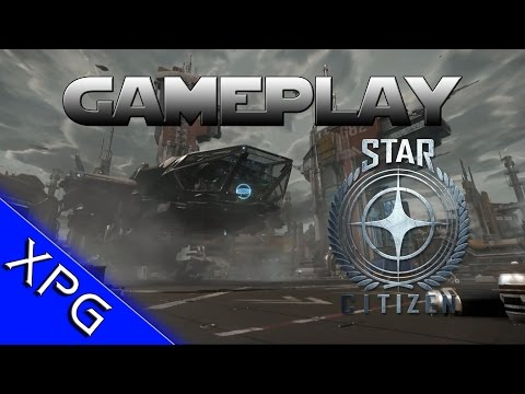 Star Citizen Persistent Universe Gameplay!